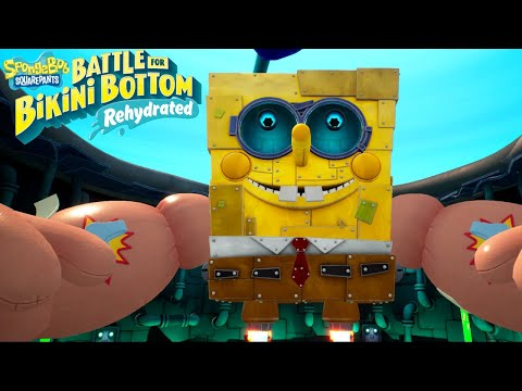 SpongeBob Battle for Bikini Bottom Rehydrated - Full Game Walkthrough