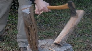 Nonton Raw Clip  Splitting Wood With A Gransfors Bruk Small Forest Axe Film Subtitle Indonesia Streaming Movie Download