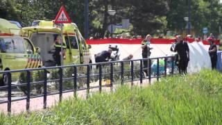 Dodelijk ongeval door hersenbloeding vrachtwagenchauffeur