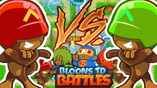 EPIC BLOONS WAR SHOWDOWN - BLOONS TD BATTLES
