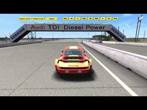 Game Stock Car Extreme – Porsche 911 RSR @ Sebring Modified