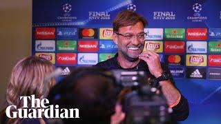 Video Jürgen Klopp laughs off Zinedine Zidane critics before Champions League Final MP3, 3GP, MP4, WEBM, AVI, FLV Agustus 2018