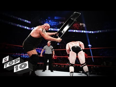 Stunning Steel Chair Attacks: WWE Top 10