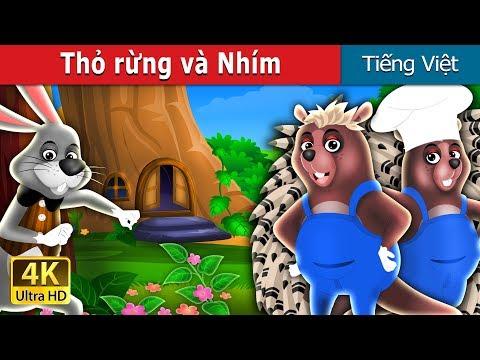 Thỏ rừng và Nhím | Chuyen co tich | Truyện cổ tích việt nam - Thời lượng: 9 phút, 44 giây.