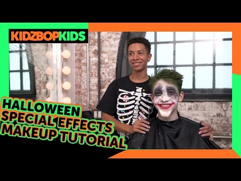KIDZ BOP Kids – Halloween Special Effects Makeup Tutorial with Grant & Matt