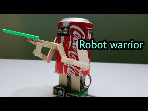 How to make a warrior Robot - very easy [newcd]