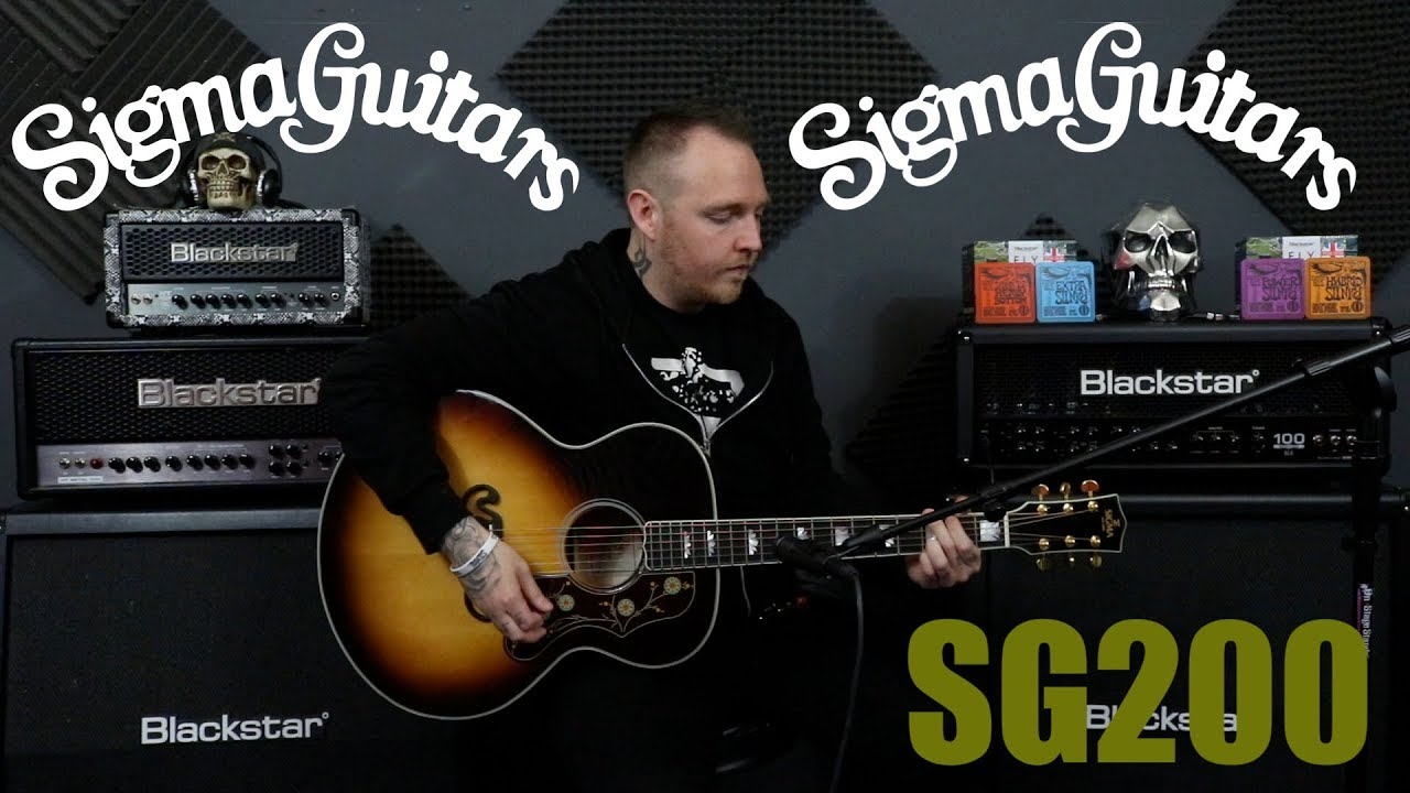 Sigma SG200 Acoustic Guitar Review || Stunning In Every way!