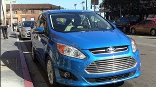 2013 Ford C-Max Energi Plug-in Hybrid First Drive Review