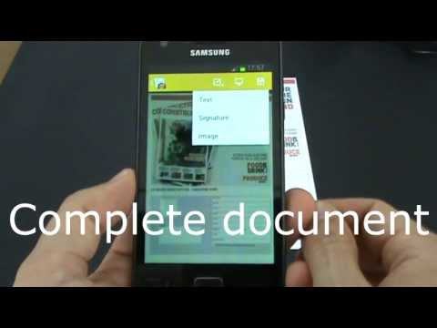 Video of docLinker Scan & Fill PDF
