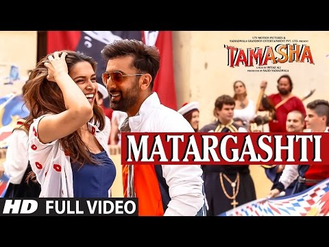 Download MATARGASHTI full VIDEO Song | TAMASHA Songs 2015 | Ranbir Kapoor, Deepika Padukone | T-Series HD Mp4 3GP Video and MP3