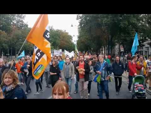 Demo gegen CETA und TTIP am 17.09.2016 in Wien