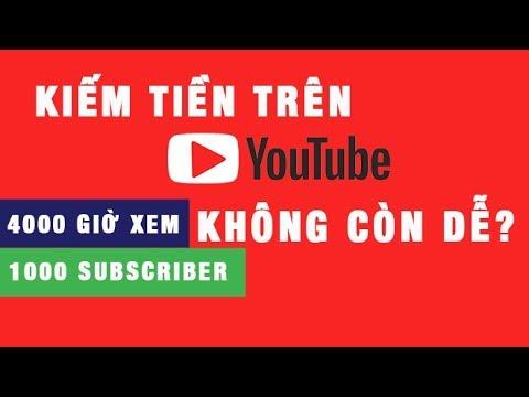 Điều kiện bật kiếm tiền trên youtube 2018 đã thay đổi - Thời lượng: 10:59.