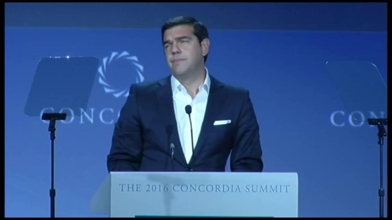 Ομιλία του πρωθυπουργού στη Σύνοδο Concordia