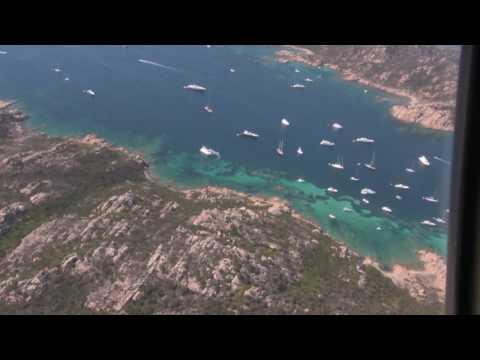 Tour in elicottero Arcipelago di La Maddalena HD