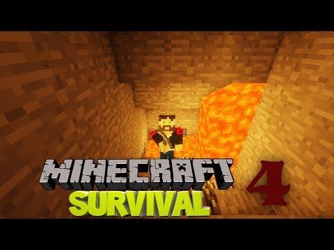 MADENCİLİK | Minecraft Survival Türkçe | Bölüm 4