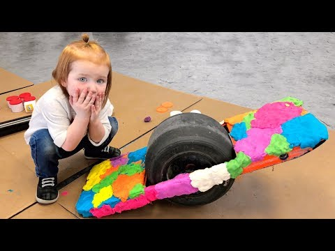Play doh - PLAY-DOH HOVERBOARD!!