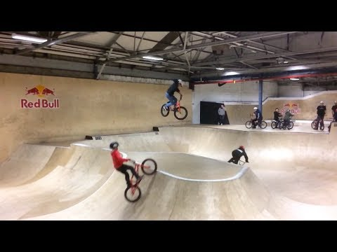 Lil Pros UK BMX Tour BONUS EPISODE: Pregaming in Scotland at Unit 23 Skatepark (видео)