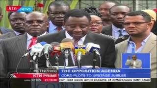 Opposition Coalition CORD Demands Voter Registration At Polling Station Level