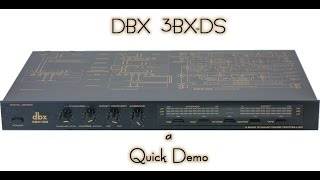Video dbx 3BX DS Demo: Hammy Technoid Talks MP3, 3GP, MP4, WEBM, AVI, FLV September 2018