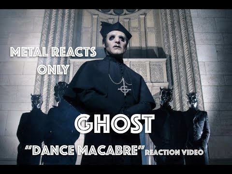 "GHOST ""Dance Macabre"" Reaction Video 