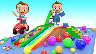 Video Baby Learn Colors With Wooden Toy Slider Marble 3D Balls Colors For Kids Children Toddler Education MP3, 3GP, MP4, WEBM, AVI, FLV November 2017
