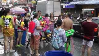 2013  Water Festival In Pattaya Thailand