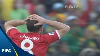 WM 2010: Lampards aberkannter Treffer gegen Deutschland