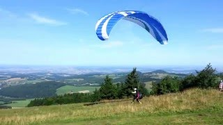 "Learning to ""Fly"" Paraglide"