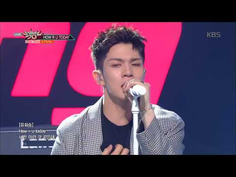뮤직뱅크 Music Bank - HOW R U TODAY - N.Flying.20180518