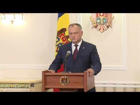 Igor Dodon, comandantul suprem al Forțelor Armate a efectuat o vizită de lucru pe poligonul de la Bulboaca