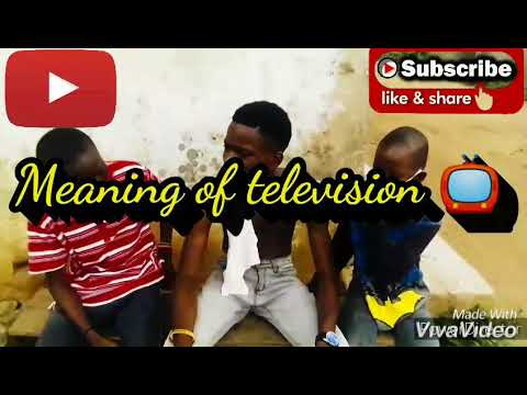 Jstar explain the meaning of television📺🤣😂 #kastropee#thespian nozy#funny comedy