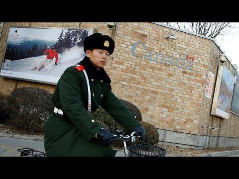 Κίνα: Υπό κράταση δύο καναδοί πολίτες – Διπλωματική ένταση λόγω Huawei;…