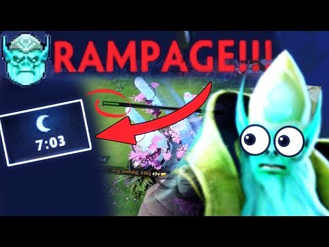 WTF Triple Rampage in 7 Min LOL Mode Necrophos Most Biggest Comeback by FEED Team Dota 2