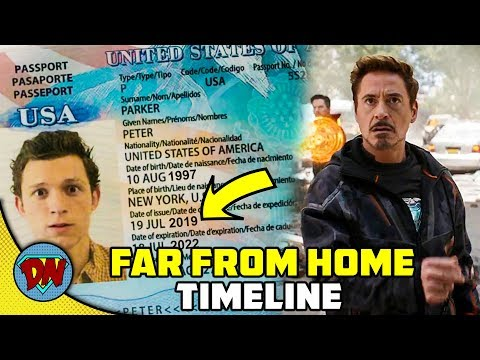 Spider-man: Far From Home Timeline - Before Or After End Game ? | Desinerd