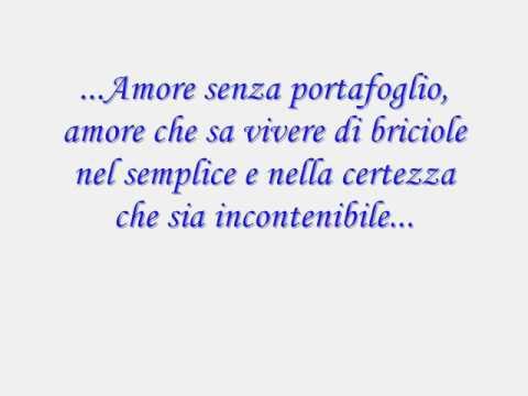 , title : 'Amore Incontenibile(testo)Studio 3'