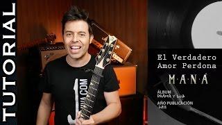 Cómo tocar El Verdadero Amor Perdona en guitarra acústica tutorial   Guitarraviva