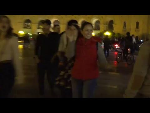 LIVЕ. Նիկոլ Փաշինյանը երթով շարժվում է դեպի Բաղրամյան պողոտա - DomaVideo.Ru