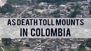 Death Toll Mounts in Colombia.As night fell after one of Colombias darkest days in recent history, rescue workers had pulled 254 dead from the mud and rubble left by an avalanche that devastated the southern town of Mocoa. Two hundred people were still missing as the sun went down. In a state of shock, and without electricity or drinking water, the inhabitants of the town entered their first night after the disaster that destroyed much of the capital of the Putumayo province. The falling of night severely limits rescue workers ability to find survivors under the rubble and mud left by Colombias deadliest natural disaster in decades, particularly because the town is without electricity and roads have become impassable. Meanwhile, desperate locals are still hoping to find signs of life of some who were still missing. Ongoing rains spur fears that the waters of the Mocoa, Mulato and the Sancoyaco rivers could swell and overflow again, making nocturnal rescue work even more dangerous. Parts of the city were evacuated in their totality to shelter those who lost their homes and prevent more victims in the event the rivers waters rise again. While in Mocoa for an emergency visit, President Juan Manuel Santos declared a state of emergency, allowing the national government to send more resources to the town. Colombias military engineers have been called in to immediately fix the bridges in and around the city, effectively reconnecting it to the rest of the country. Some two thousand five hundred members of the military, police and rescue agencies will spend the night in the town. The United Nations childrens agency UNICEF called for donations to immediately attend the basic needs of the children who are most affected and are most vulnerable in situations like this.========= Join Us ============** Channel Link : http://bit.ly/2aUXmso** HGTV Dream Home: https://youtu.be/E7dexSblJD4** It's So Hot Out Cockroaches Might Start Flying in NYC: https://youtu.be/p_4sXyQHoms** Bones may belong to teen sacrificed to Zeus: https://youtu.be/BvzMY2JM-2Q** Chimney Fire burns 850 acres near Nacimiento Lake: https://youtu.be/N7Xav9guuOI** Hundreds of Tiny Montserrat Tarantulas Hatch in Zoo: https://youtu.be/BtglHldFhVQ** Bill Clinton Talks Email Controversy: https://youtu.be/DHE1pCdQgNE** Donald Trump Recruits Election Observers to Avoid a 'Rigged' Election: https://youtu.be/hkbfqrS2aIg** Historic' Louisiana Floods: https://youtu.be/OiyVaDKDVJ0** 2 wildfires in California send residents fleeing from homes: https://youtu.be/tQ9jbs1JNE0** Virginia Plane Crash - 6 Victims Identified: https://youtu.be/6xAgbVb1mO0** Explosion of Steam Pipe at Chinese Power Station Kills 21: https://youtu.be/VImgTAFR2RY** Huge fire and explosion destroys Md. apartment complex: https://youtu.be/Dm6JbfpxD18** Pilot fire grows to more than 7,700 acres: https://youtu.be/m98zL5CkyCM** Blind Kid Throws D backs First Pitch in Game: https://youtu.be/auBKq18TuiQ** Kuznetsov Scores World Class Goal ● Ice Hockey: https://youtu.be/vqZtuVe4YSM** Stipe Miocic knocks out Fabricio Werdum : https://youtu.be/1y0ZD3Y0NS0