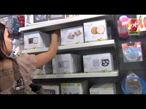 SEISKA-TV Martina Aitolehti shoppailee lastentarvikkeita tekijä: Seiska