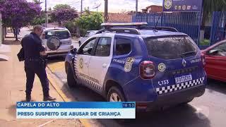 Preso suspeito de abusar de menina de 5 anos em Capela do Alto