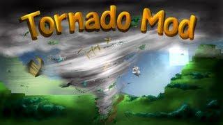 Tornado Mod: Minecraft Weather and Tornadoes Mod Showcase!