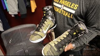 Inside the Los Angeles Lakers' Locker Room | Sole Access