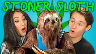 TEENS REACT TO STONER SLOTH (Marijuana PSA)