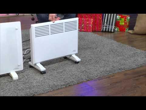 Sichler Mobiler Konvektor-Heizkörper mit Rollen, 1000 W