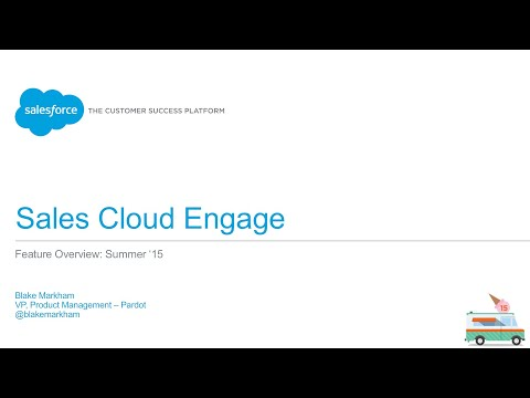 Sales Cloud - Sales Cloud Engage