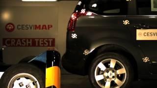 Crash Test Trasero Peugeot 5008