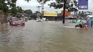 Сильное наводнение на юге Таиланда: затоплены более 4 тыс. населенных пунктов