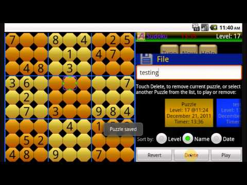 Video of Sudoku free HD by Acropa