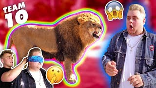 Video ESCAPED WILD LION PRANK IN TEAM 10 MANSION.. {SCARY} MP3, 3GP, MP4, WEBM, AVI, FLV Januari 2018
