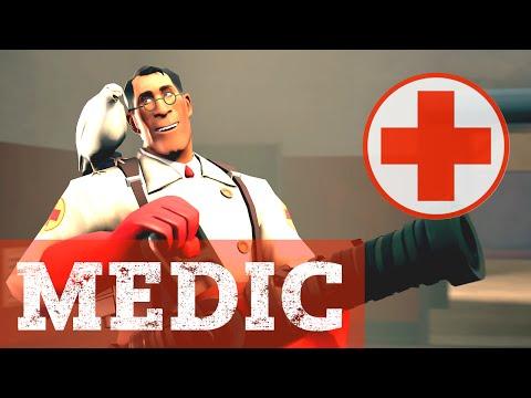 Обзор на Медика   Team Fortress 2
